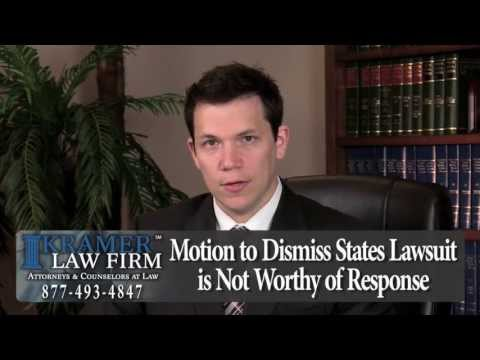 Orlando Foreclosure Attorney - What is a Motion to Dismiss?