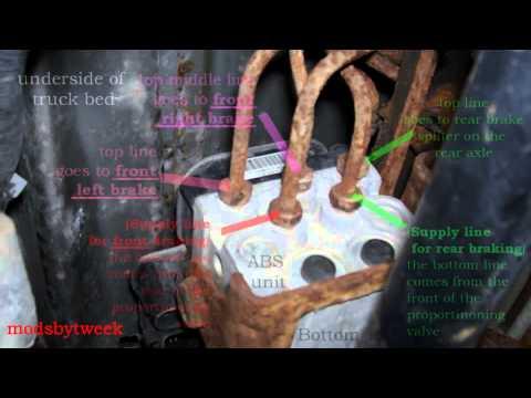 DIY Blazer Brake Line Replacement  How to Replace Rust | Doovi