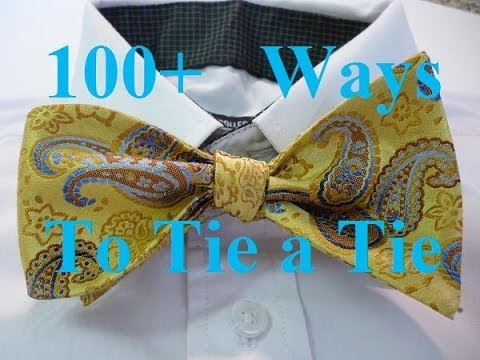 Animated how to tie a bow tie step by step instructions no hands to animated how to tie a bow tie step by step instructions no hands to get in the way youtube ccuart Gallery