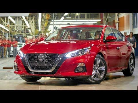 2019 Nissan Altima Production