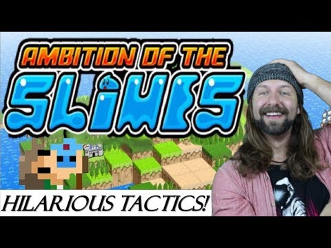 Ambition Of The Slimes: Switch Review (Tactics RPG - Indie Game)