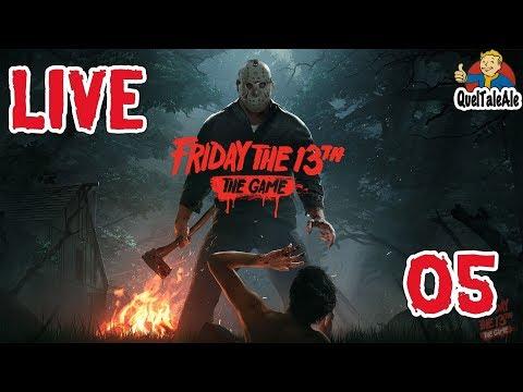Friday the 13th: The Game - LIVE #05 - Il fisico non fa la sportiveggianza
