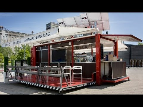Shipping Container Restaurant Toronto