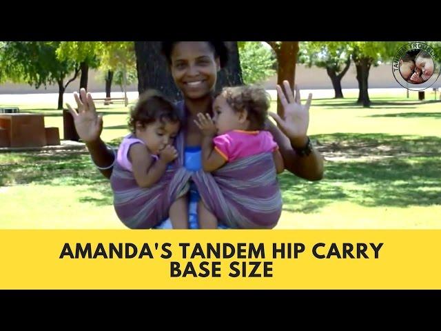 Amanda's Tandem Hip Carry (HD)