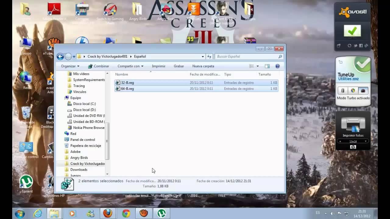 Descargar e instalar Assassin's Creed 3 para PC full crack - español