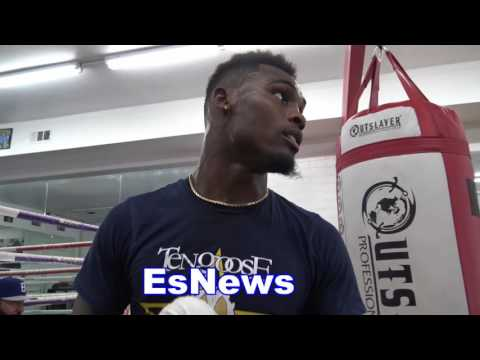 Jermell Charlo - NO ONE WORKS AS HARD AS ERROL SPENCE JR EsNews Boxing
