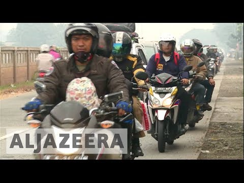 Indonesia government launches road safety campaign before Muslim holiday