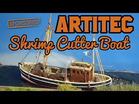 Review build | Shrimp Cutter boat | Artitec Models [sponsored]