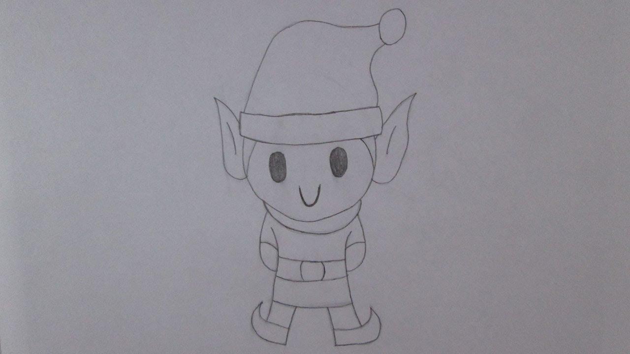como desenhar um duende de natal youtube