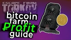 Ultimate Escape from Tarkov Bitcoin Farm Guide