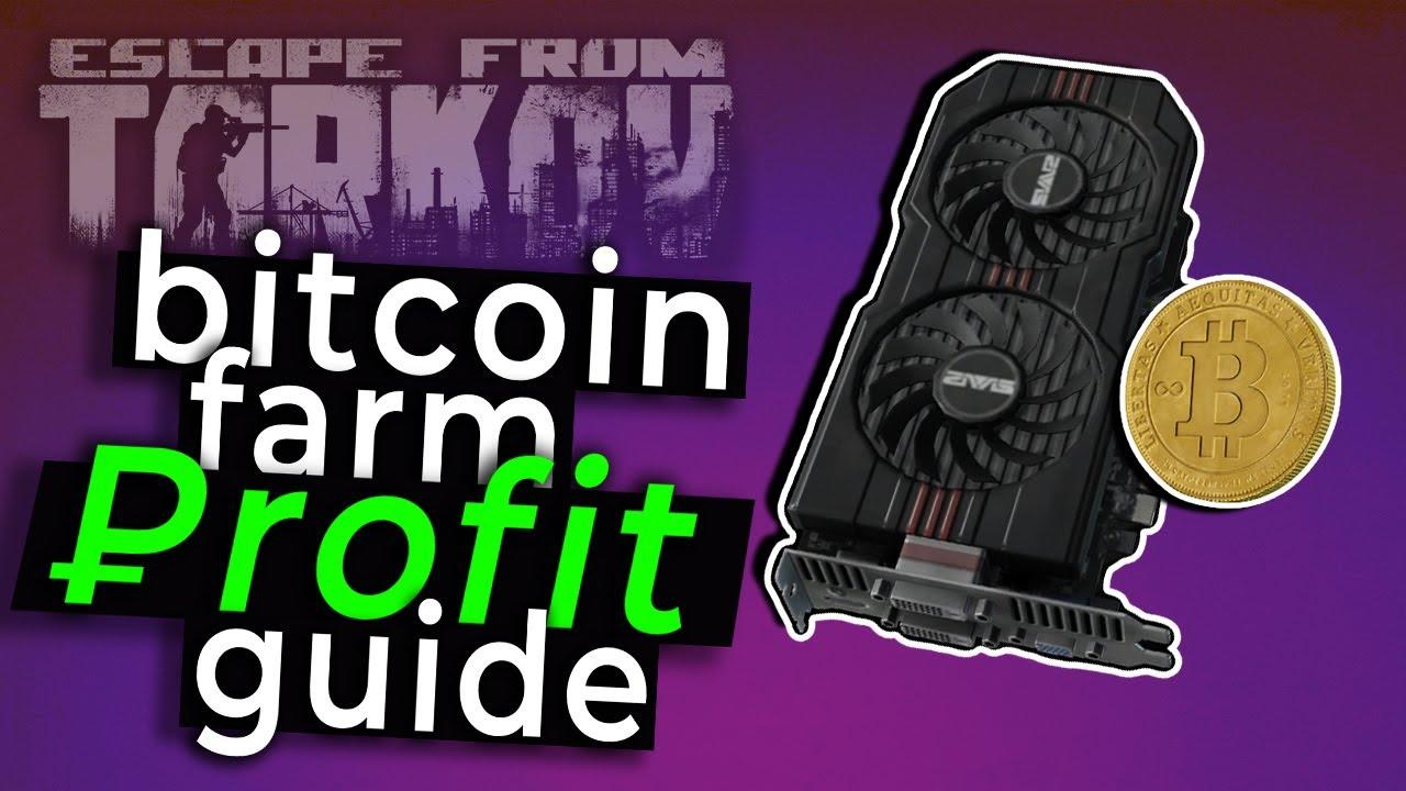 tarkov câștigă majoritatea banilor cu bitcoin