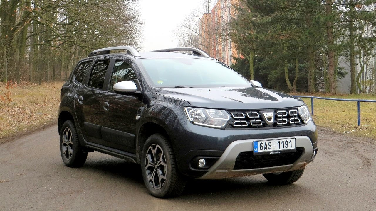 new dacia duster 2018 walkaround prestige in grey. Black Bedroom Furniture Sets. Home Design Ideas