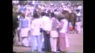 Rabwah  1981: Speech by 3rd head of Ahmadiyya and a Tent Pegging contest