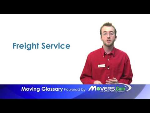 Freight Service - Moving Glossary - Movers.com