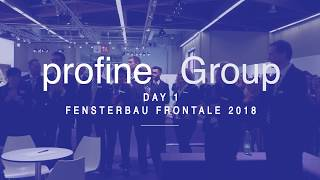 FENSTERBAU FRONTALE 2018 - Day 1