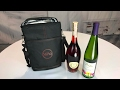 Vina 2 Bottle Insulated Travel Wine Carrier Picnic Cooler Tote Bag Review