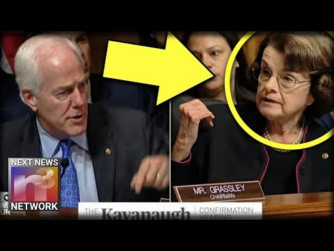 With ONE Look Decrepit Feinstein Just CONVICTED HERSELF - Expert Proves She Is GUILTY!!!