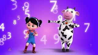 Nummern Lied | lerne die Zahlen 1 bis 10 | Lieder für Kinder | Numbers Song