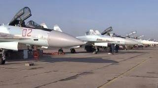 Красота и мощь: истребители Су-35 начали охрану мирного неба на Дальнем Востоке