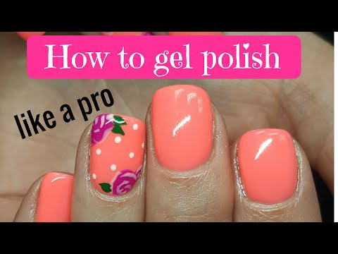 How to gel polish like a pro -SMOOTH/CLEAN CUTICLE TIPS - BACK TO THE BASICS - Tutorial