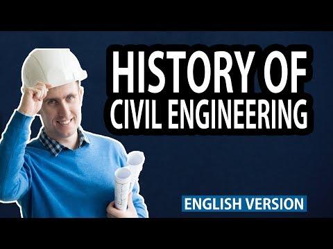 History of Civil Engineering || English Version || The Civil Engineer Crowd