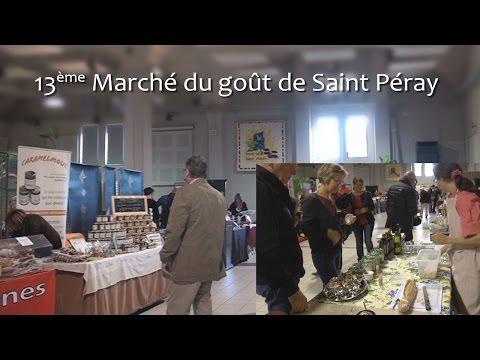 Locale à la Une - Le 13ème marché du Goût de St Peray (07)