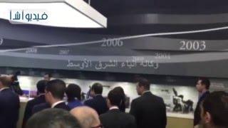 بالفيديو:الرئيس السيسي يتفقد هيئة المنطقة الاقتصادية الحرة وميناء انشون