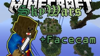 FACECAM?! | Minecraft SkyWars