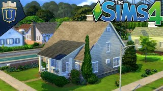 Small Town Cottage | The Sims 4 Gameplay | House Build