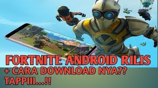 Android Fortnite release.. But..???? + How to download NY
