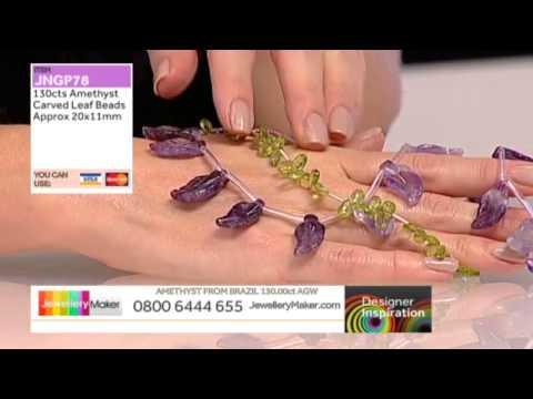 Zircon and Labradorite for jewellery making: JewelleryMaker LIVE 26/09/2014