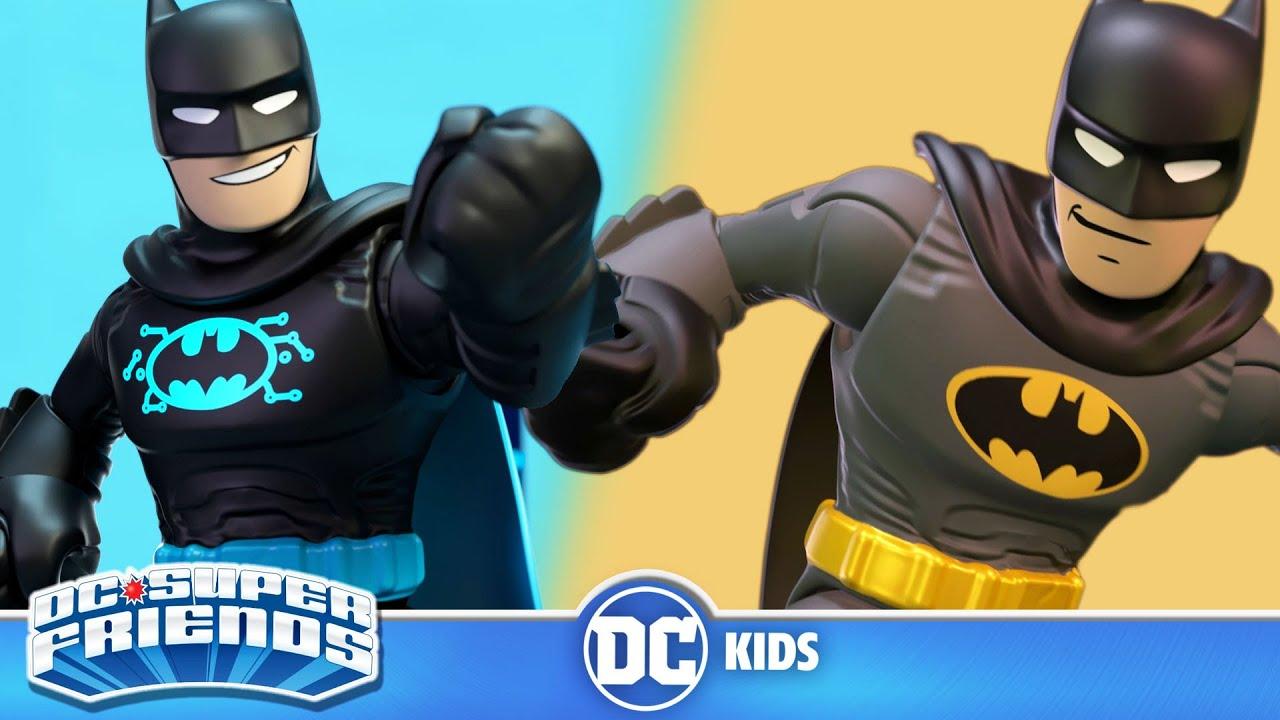 DC Super Friends En Latino   Triple Amenaza Bat-Tech   DC Kids