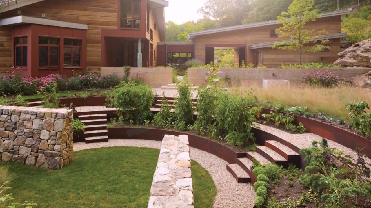 garden and backyard retaining wall ideas youtube