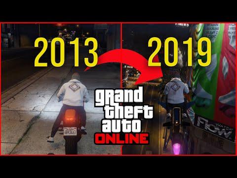 GTA Online: Then Vs Now (2013-2019)