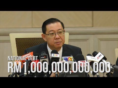 Guan Eng confirms national debt more than RM1 trillion