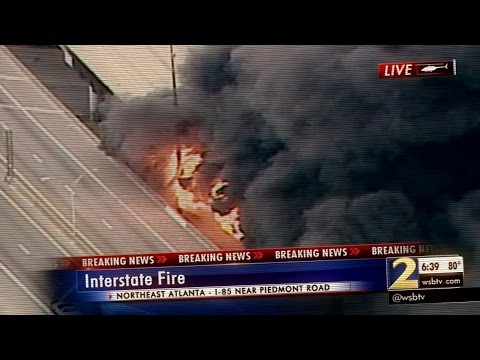 Atlanta I-85 Bridge Collapse: As It Happened with Jovita Moore