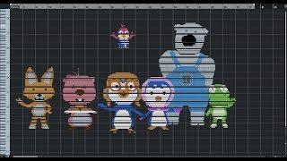 [MIDI ART] What Pororo the Little Penguin Sounds Like? l Image You Can Hear l MIDI Drawing