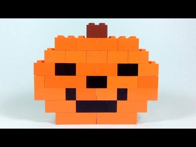 How To Build Lego HALLOWEEN PUMPKIN - 6177 LEGO® Basic Bricks Deluxe Projects for Kids