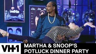 Snoop Dogg Shows Martha Stewart His Dance Moves | Martha & Snoop's Potluck Dinner Party