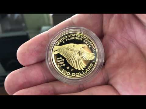 Unboxing of 2017 American Liberty 225th Anniversary of U.S. Mint One Ounce Gold Coins