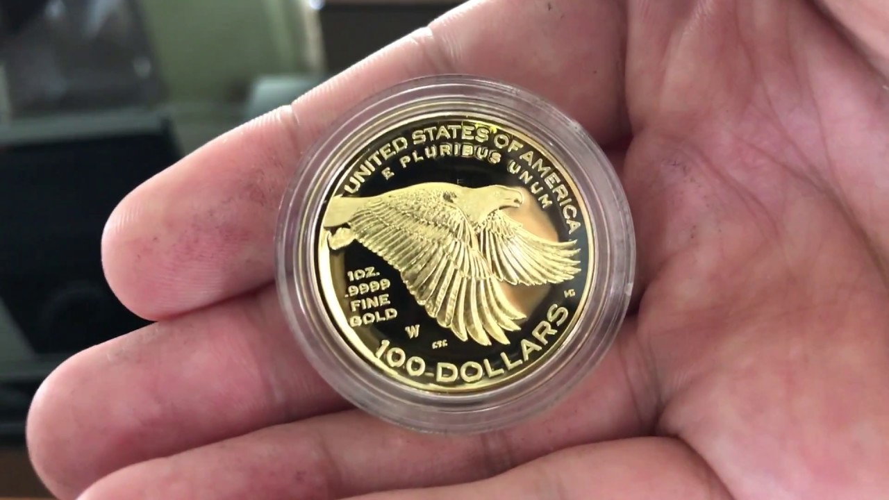 Unboxing Of 2017 American Liberty 225th Anniversary U S Mint One Ounce Gold Coins