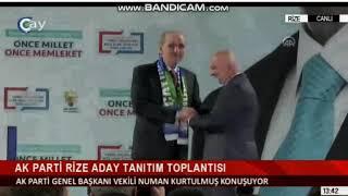 Baixar AK Parti Rize İlçe Bld. Bşk. Adayları Açıklandı