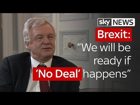 """Brexit: """"We will be ready if 'No Deal' happens"""""""