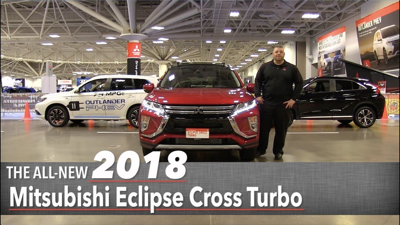 All New 2018 Mitsubishi Eclipse Cross Turbo White Bear Lake St Paul Minneapolis Mn