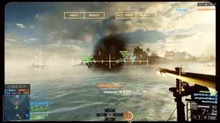 Battlefield 4 Xbox One Attack Boat Gameplay (BF4 Online 1080p HD)