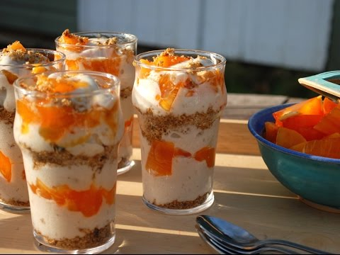 80/10/10 Simply Delicious Raw Persimmon Parfait Recipe