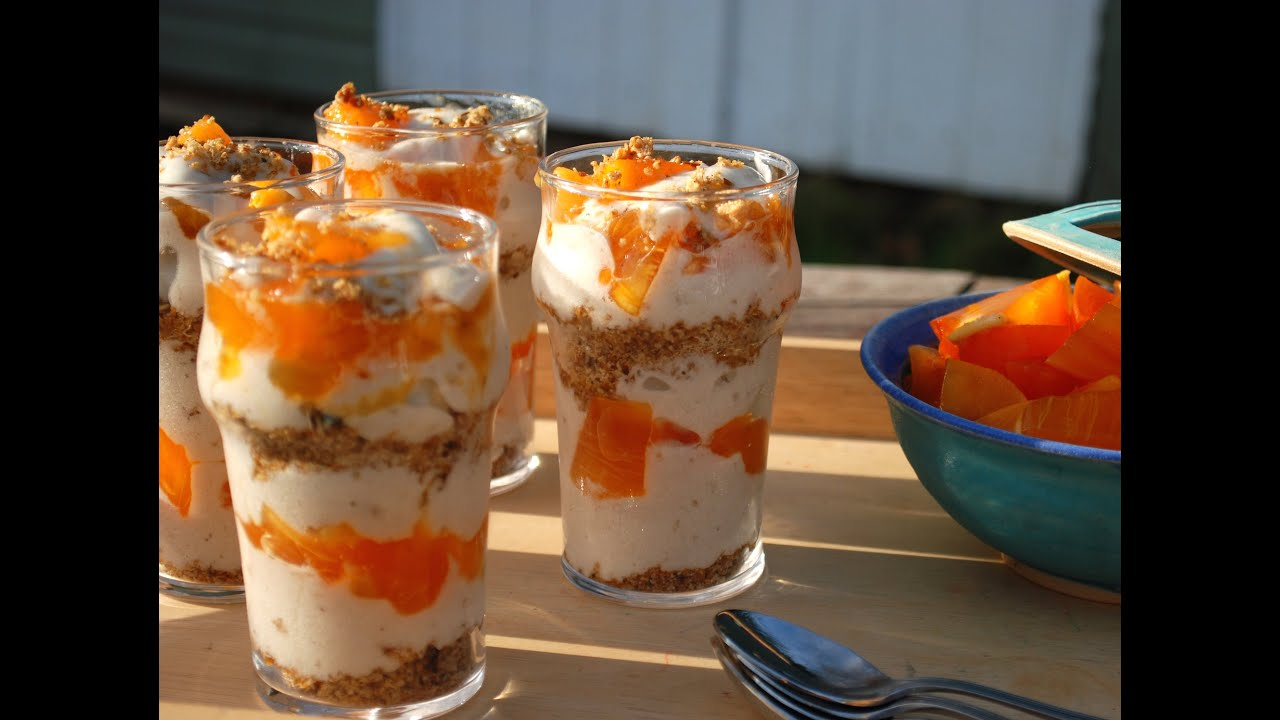 801010 simply delicious raw persimmon parfait recipe youtube forumfinder Choice Image
