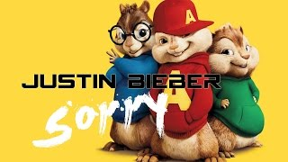 Justin Bieber - sorry (Chipmunk Cover)
