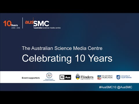 Celebrating 10 years of the AusSMC - part 1 - Intro and speeches