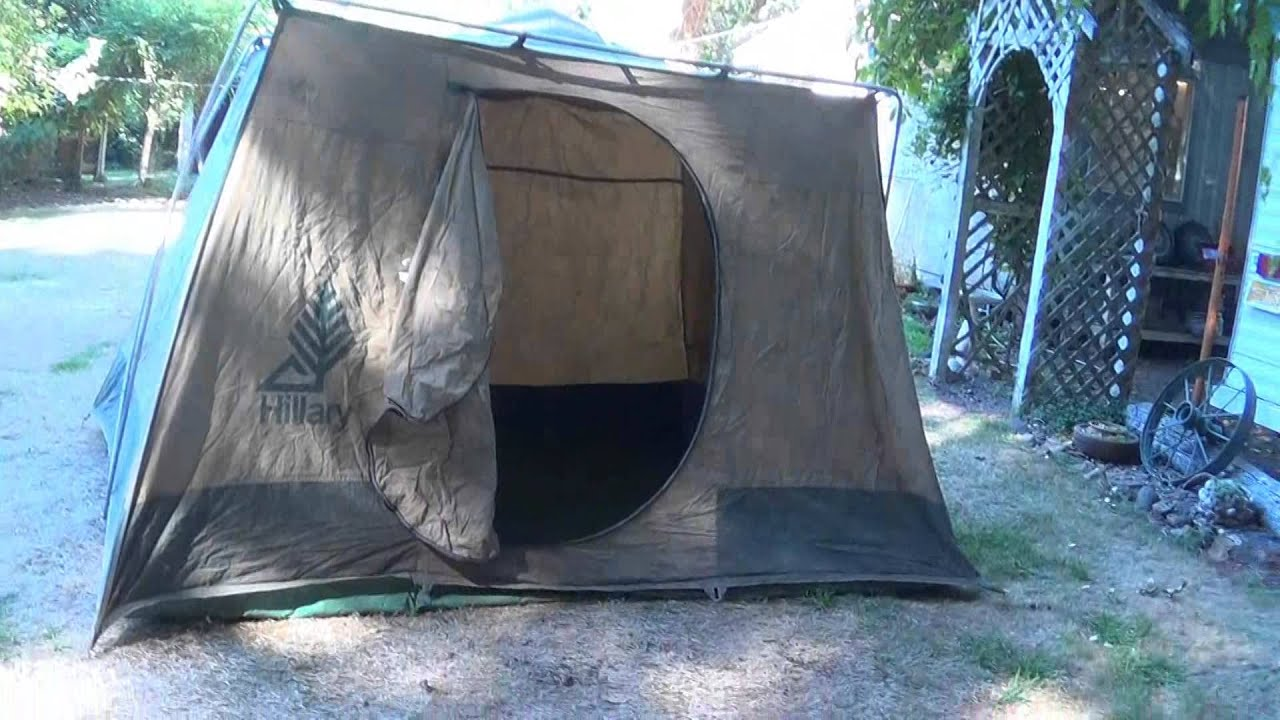Sears Hillary Tent Setup Instructions